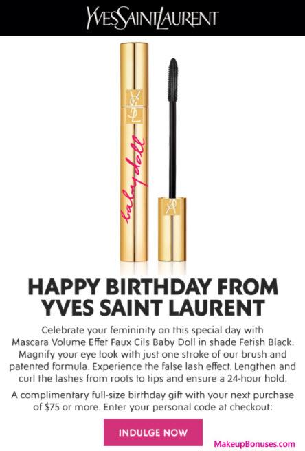 Free Birthday Gifts Makeupbonuses Com
