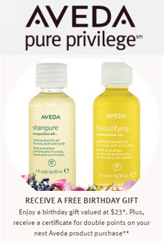free birthday gifts by mail